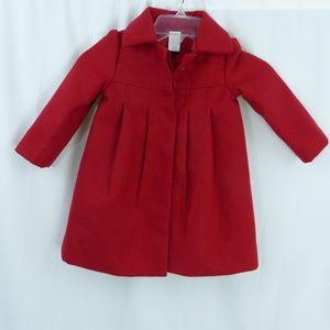 Gymboree Red Coat 2T 3T Jacket